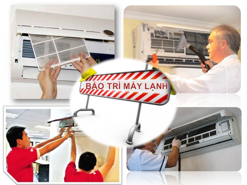 Bảo trì sửa chữa máy lạnh điều hòa tại nhà