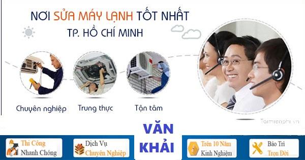 Sửa chữa máy lạnh tại HCM